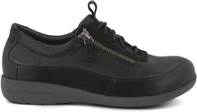 Green Comfort Sneakers Zipper Black