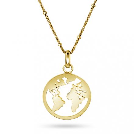 Verdenssmykke i gullforgylt