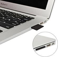Micro sd/tf till sd - svart adapter för macbook air/pro