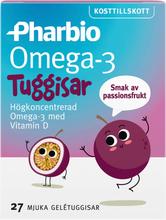 Pharbio Omega-3 Tuggisar - 54% rabatt