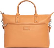 """GOLLA Tote Bag Zeta 14"""" Cognac Läder"""