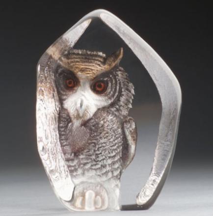 Målerås Glasbruk - Safari Ugle