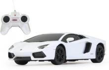 Lamborghini Aventador 1:24 white
