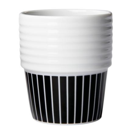 Rörstrand - Filippa K Espressokop, 2-Pak, Pinstripes