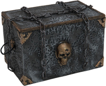 Halloween animated pirate coffin