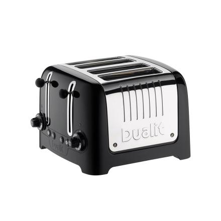 Dualit - Gloss Brødrister 4-Skiver, Sort 220V
