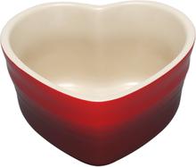 Le Creuset - Hjerte Ramekin Cerise