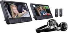 DVP-1045 - two LCD monitors / DVD player - display 10 in - external - LCD display LCD display