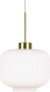 Globen Lighting - Ritz Pendel ø25 cm, Hvit/Messing