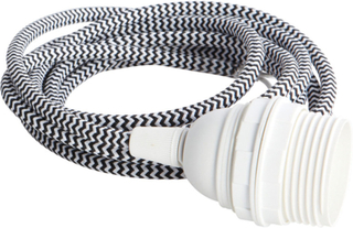 House Doctor - House Doctor Cable E27, zigzag