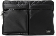 Tanker Padded Shell Zip-around Pouch - Black