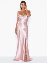 True Decadence Satin Maxi Dress