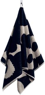 Marimekko - Unikko Håndklæde, Sort/Sand