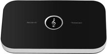 Trådlös 2-i-1 Sändare Med Bluetooth Svart