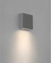 Elis Væglampe H14,1 cm 1 x LED 4,4W IP54 - Grå