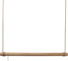 Lind DNA - Swing Tøjstativ 80cm, Eg/Nature Læder