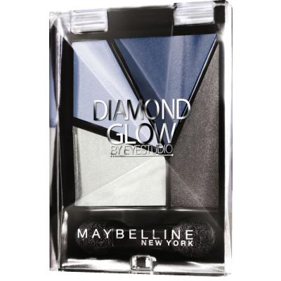 Maybelline Diamond Gold Quad Eye Shadow 03 Blue Drama 3,7 g