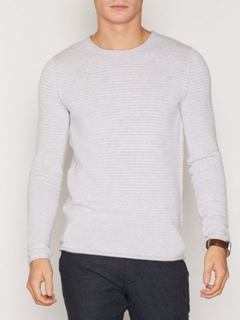 Selected Homme Shdgary Crew Neck Noos Tröjor Vit