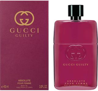Köp GUCCI Gucci Guilty Absolute Pour Femme Body Oil, Body Oil 90 ml Gucci Hudserum & Kroppsolja fraktfritt