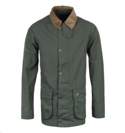 "Barbour lese Khaki grønn Casual jakke LARGE (40"" CHEST)"