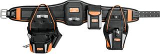 BAHCO Slitstarkt verktygsbälte svart 4750-HDBS-2