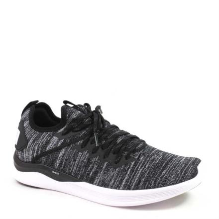 Puma Ignite Flash evoKnit Sneaker, svart