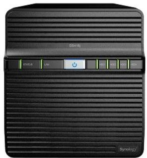 Synology DS418j Nas for 4 harddisker