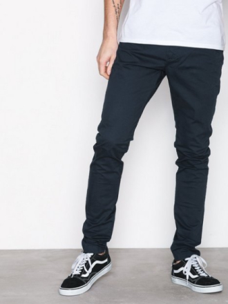 Dr Denim Heywood Chino Housut Deep Blue