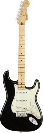 Fender Player Stratocaster, MN, BLK el-gitar sort