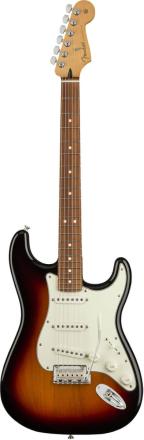 Fender Player Stratocaster, PF, 3TS el-gitar 3-tone sunburst