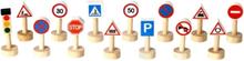 Trafikskyltar (14 st, Plan World)
