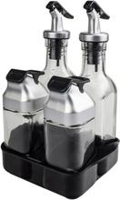 eStore Olja och Vinägerset med Salt- och Pepparkar