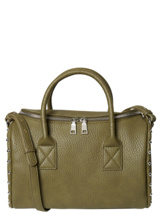 PIECES Stud Handbag Women Green