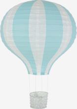 Rislampa luftballong ljusblå