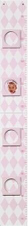 Mätsticka harlequin, rosa