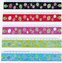Linjal, olika färger ( Blå )