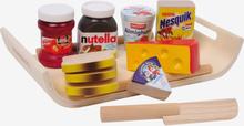 Frukostset i trä Nutella