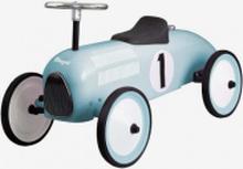 Gåbil sparkbil i ljusblå färg