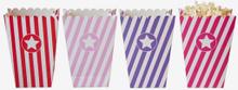 Popcornbox, rosa/lila