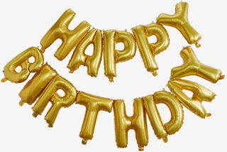 Vimpel ballong, Happy Birthday