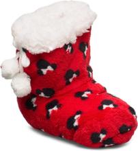 Elastic Slippers Slippers Inneskor Röd Disney