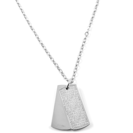 Statement Dog Tag Halskæde