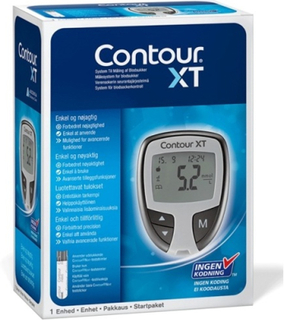 Contour Diabetes Solutions Contour XT blodsockermätare