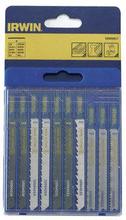 Irwin Assorterede Stikksagsblad 10 stk - til tre og metal