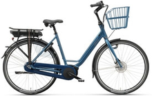 Batavus Elcykel Luca E-go Dam 2019, mattblå, 57 cm Damcyklar damelcykel