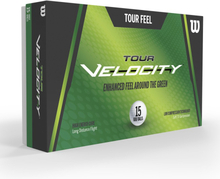 Wilson Tour Velocity Feel Golf Balls 15 Pack White