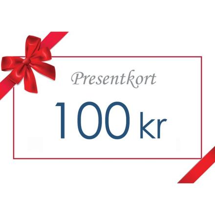 Gavekort - Värde 100 kr inkl moms