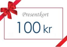 Presentkort - Värde 100 kr inkl moms