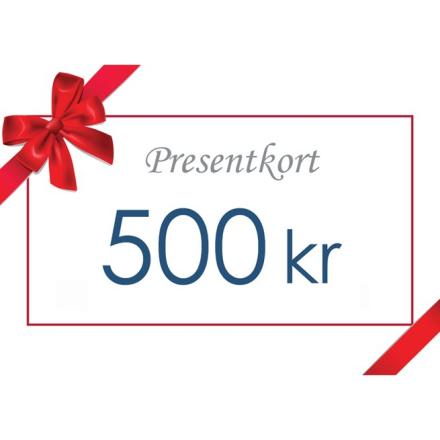Gavekort - Värde 500 kr inkl moms