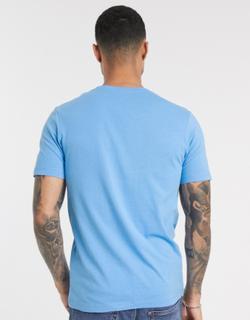 Jack & Jones chest branding t-shirt-Blue